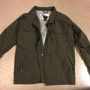 Dark Green 686 Light ski jacket